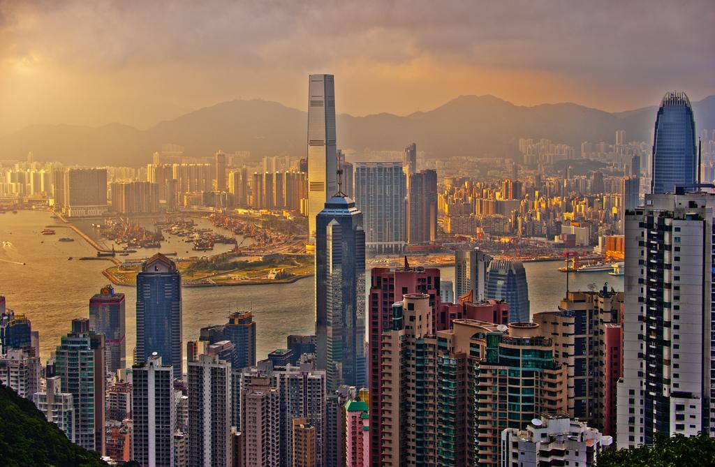 Hong Kong is Asia's answer to silicon valley mike behnken hong kong sun set