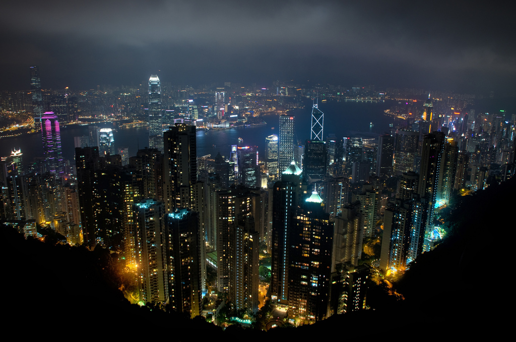 Hong Kong is calling entreprenuers ed coyle hong kong skyline from victoria peak