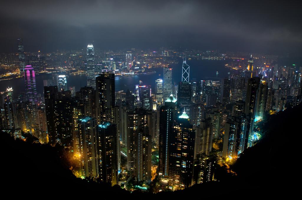Hong Kong is calling entreprenuers ed coyle hong kong skyline from victoria peak