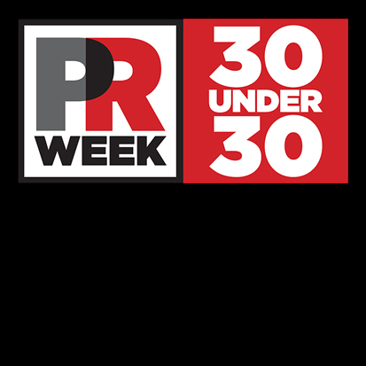 Awards carousel – PR Week 30 under 30