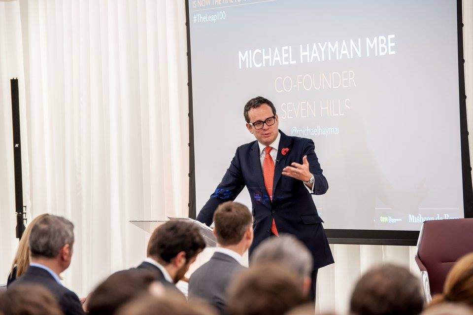 Michael Hayman at Leap Debate