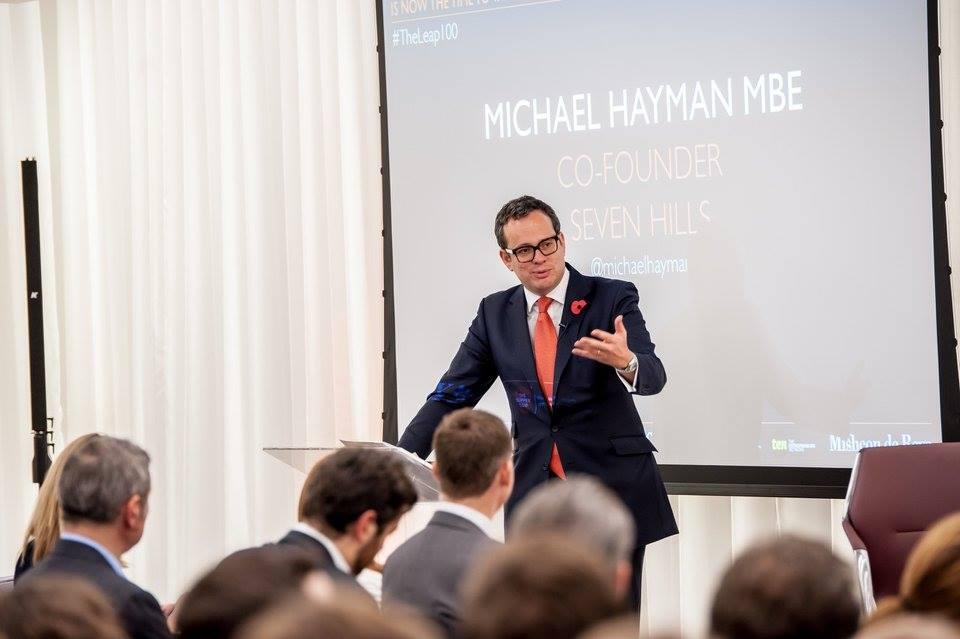 Michael Hayman at Leap Debate