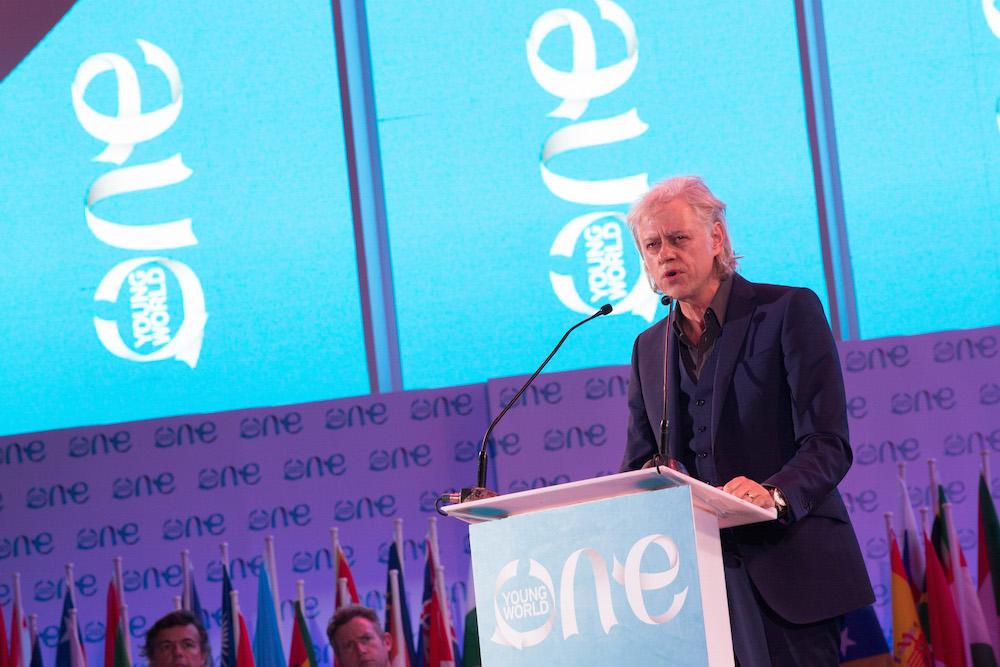 Bob Geldof, One Young World