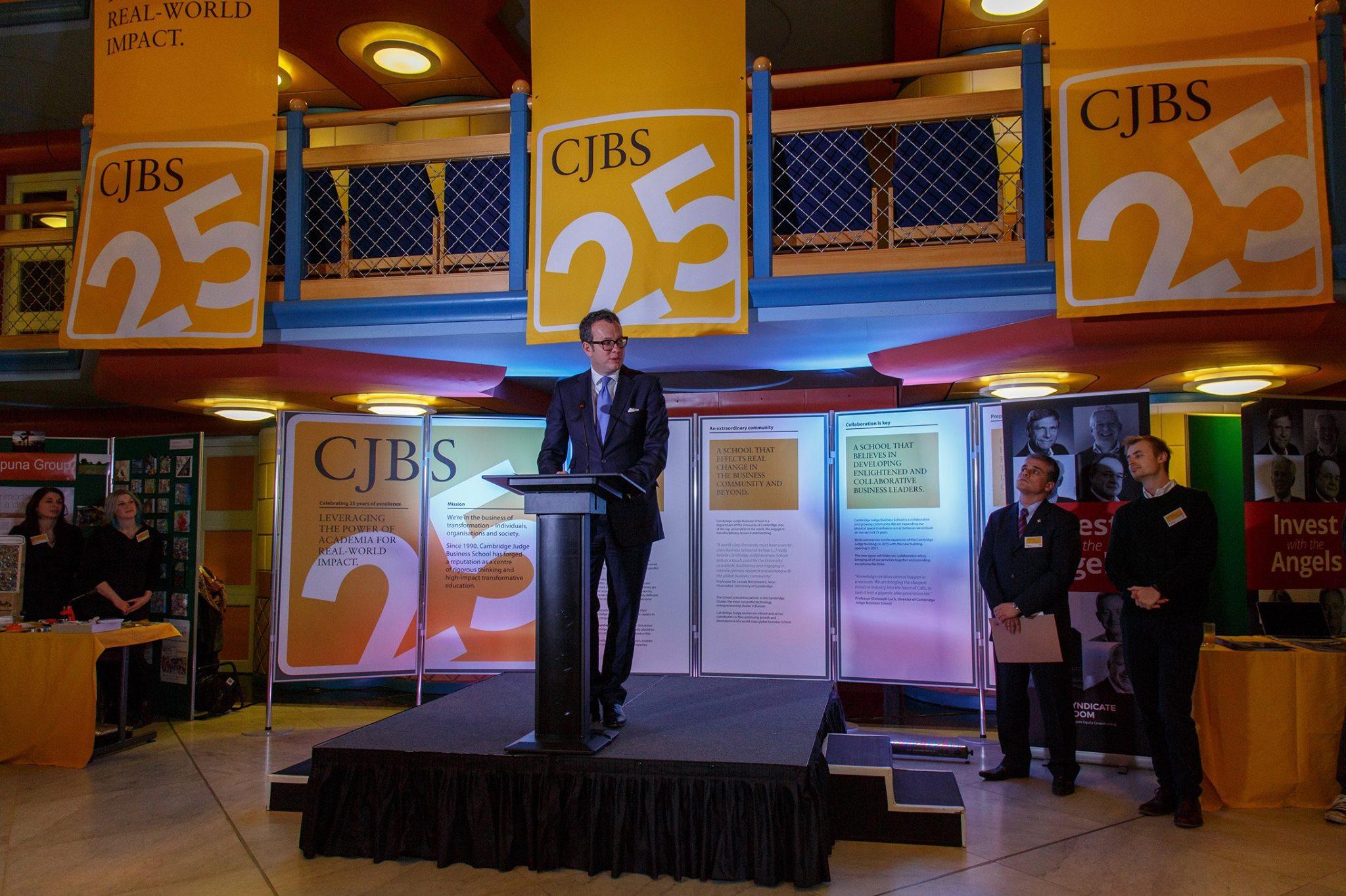 Michael Hayman, CJBS