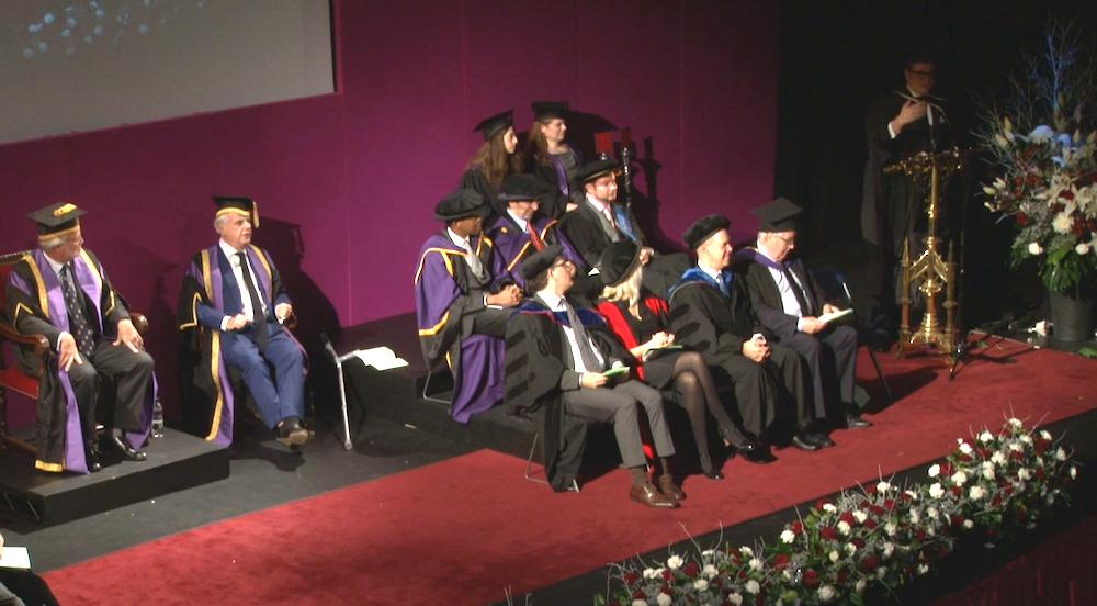 Michael Hayman, LSE Graduation Ceremony