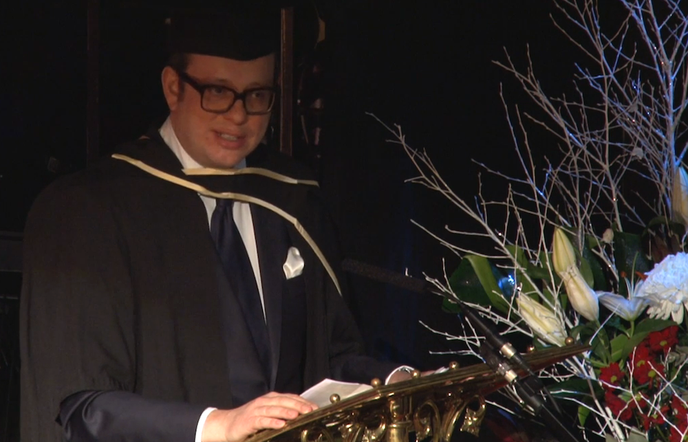 Michael Hayman, LSE Graduation Ceremony
