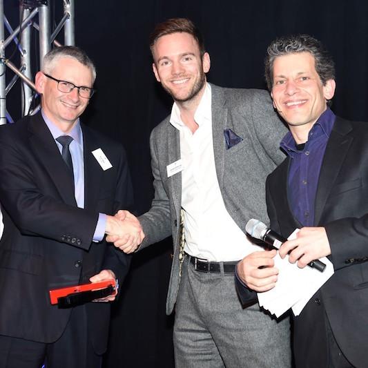 Tim Rea, Palringo, winner of Fastest Growing Company 2015