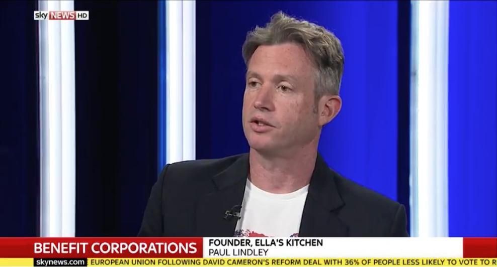 Paul Lindley, Sky News