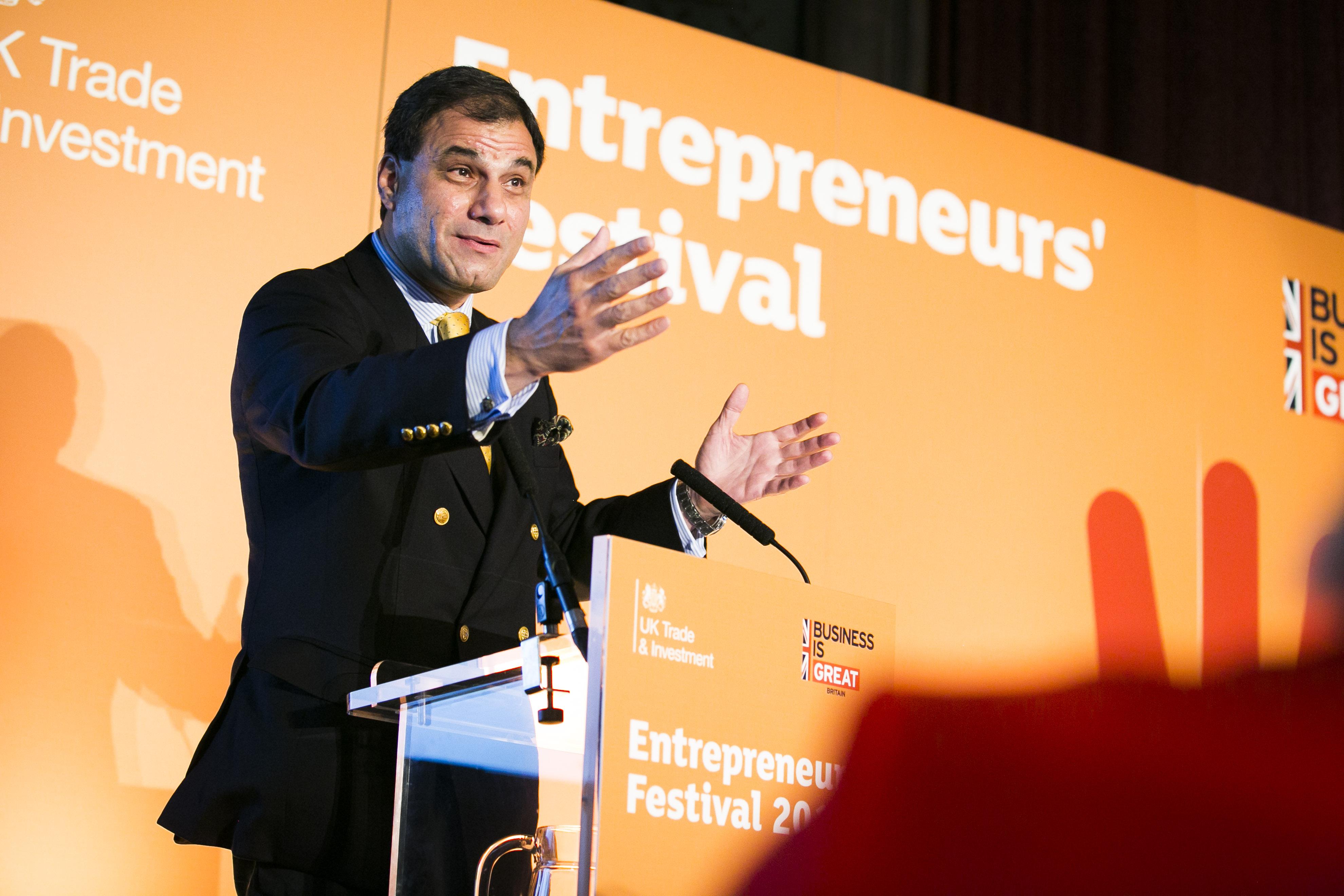 Entrepreneur festival speech