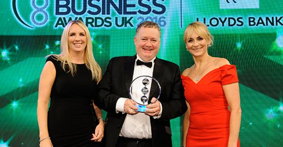 M Squared - National Business Awards 2016