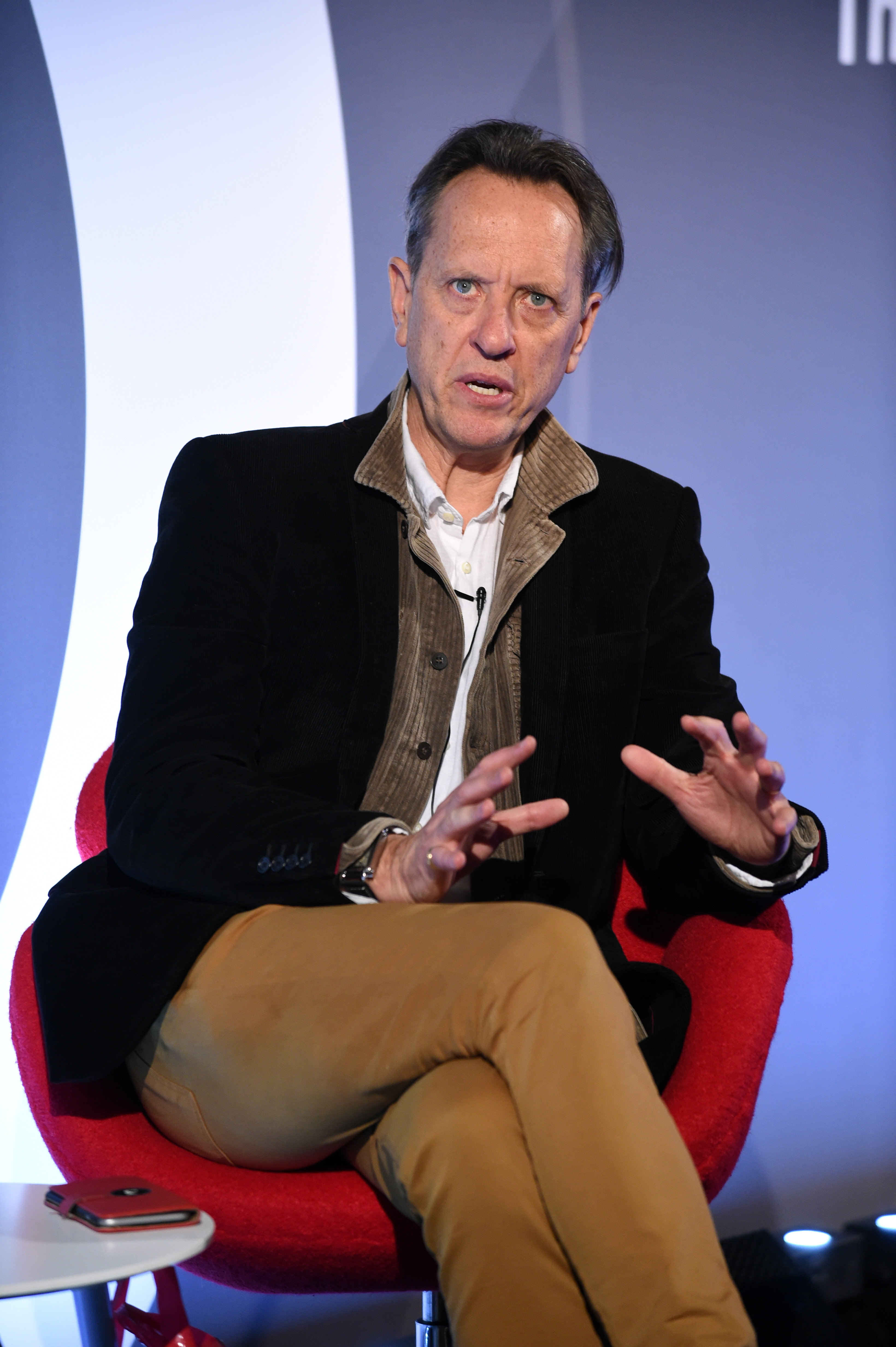 Confessions Of A Perfumed Ponce*: A Conversation with Richard E Grant seminar, Advertising Week Europe 2017, Shutterstock Stage, Picturehouse Central, London, UK