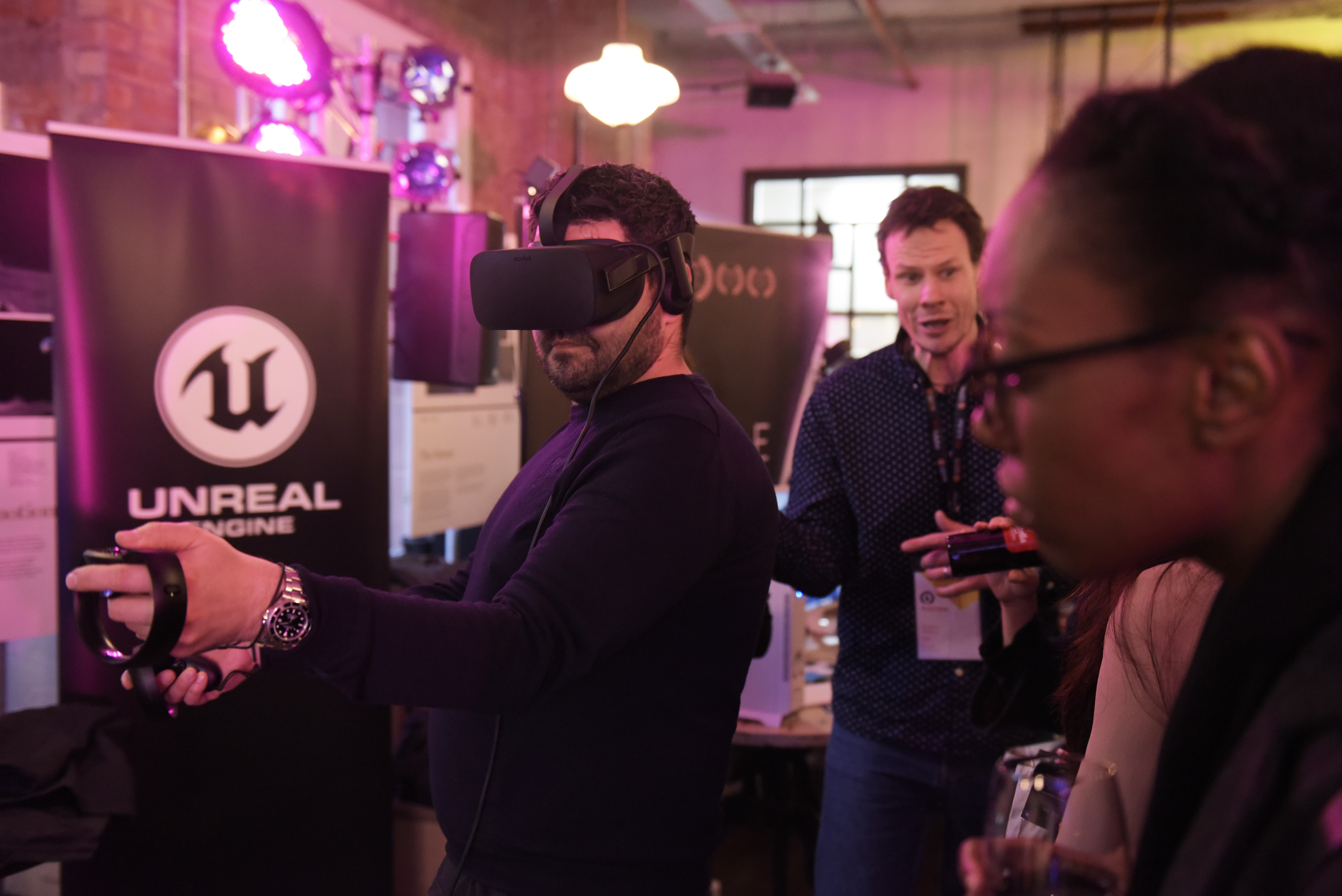 AWE Connects, Advertising Week Europe 2017, Delegates Lounge, Picturehouse Central, London, UK