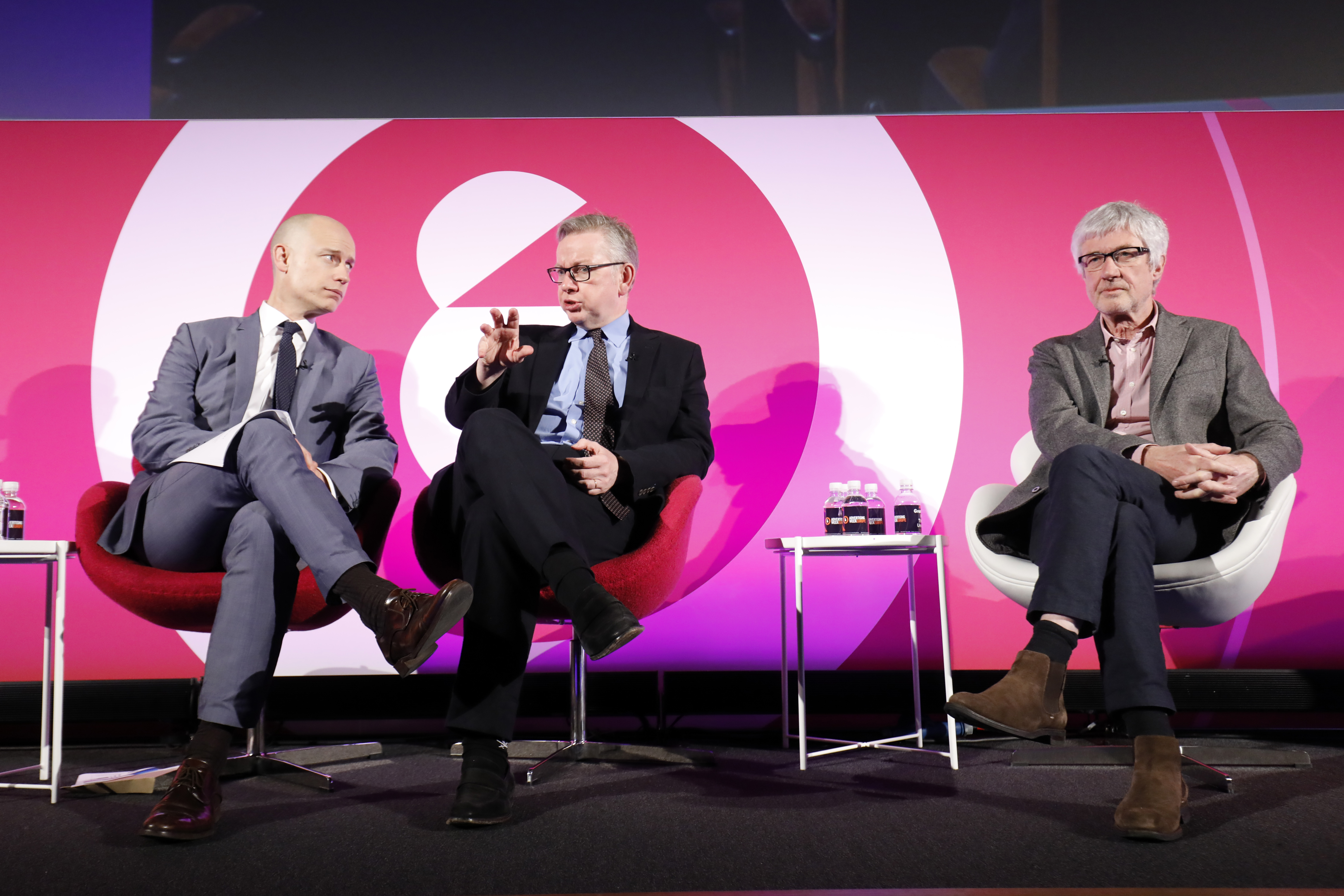 Daily Debate: The Slogan 'Take Back Control' Has A Con At Its Heart seminar, Advertising Week Europe 2017, Fast Company Stage, Picturehouse Central, London, UK