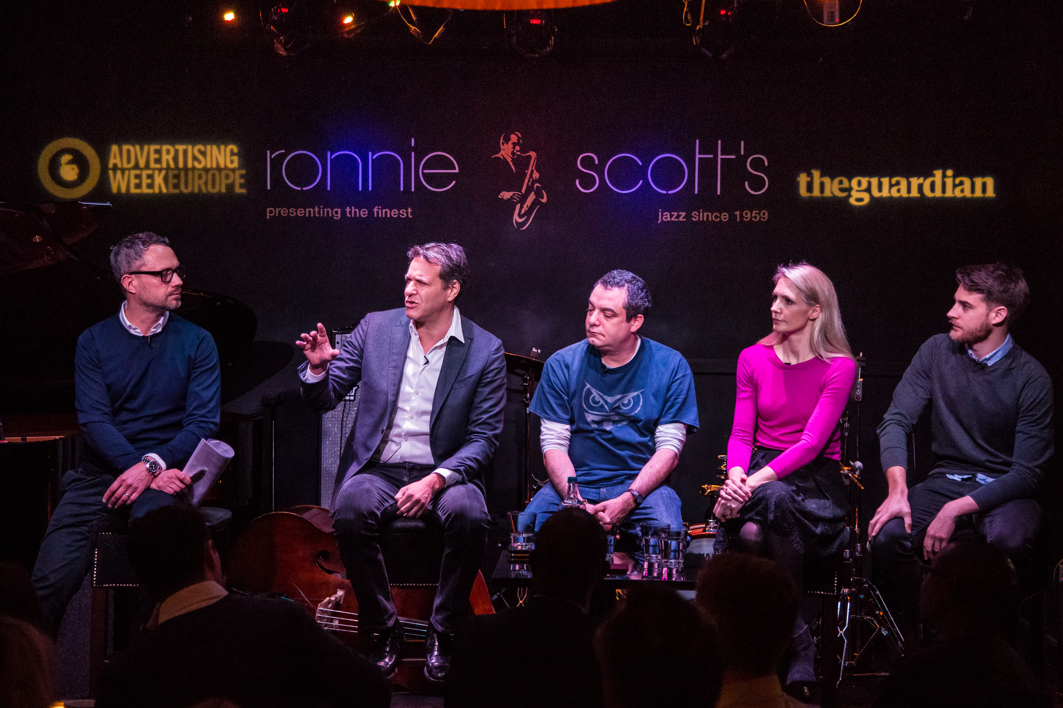The Guardian Leadership Breakfast: Learning from Disruption, Advertising Week Europe 2017, Ronnie Scott's Jazz Club, London, UK