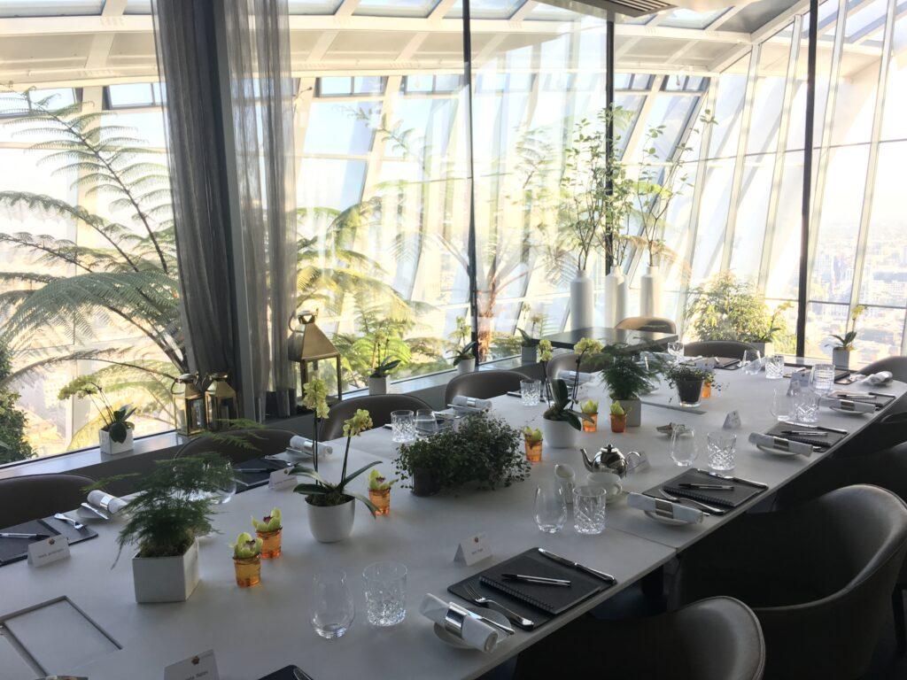 Plexal Roundtable at the Sky Garden