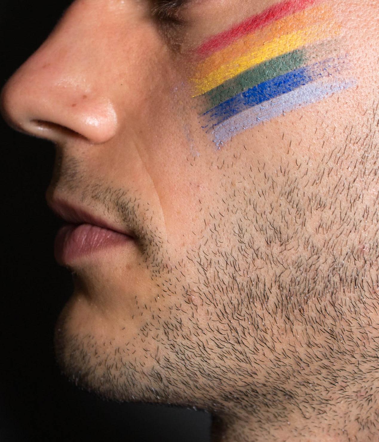 Army Pride Camo face