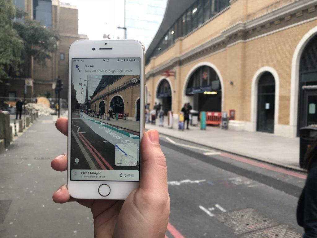 AR City - AR Navigation Blippar 2 copy